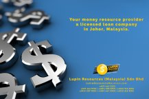 Johor Licensed Loan Company Licensed Money Lender Lupin Resources Malaysia SDN BHD Your money resource provider Kulai Johor Bahru Johor Malaysia Business Loan A01-23