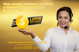 Johor Licensed Loan Company Licensed Money Lender Lupin Resources Malaysia SDN BHD Your money resource provider Kulai Johor Bahru Johor Malaysia Business Loan A01-27