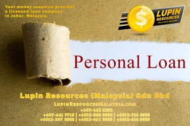 Johor Licensed Loan Company Licensed Money Lender Lupin Resources Malaysia SDN BHD Your money resource provider Kulai Johor Bahru Johor Malaysia Business Loan A01-38