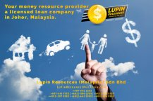 Johor Licensed Loan Company Licensed Money Lender Lupin Resources Malaysia SDN BHD Your money resource provider Kulai Johor Bahru Johor Malaysia Business Loan A01-42