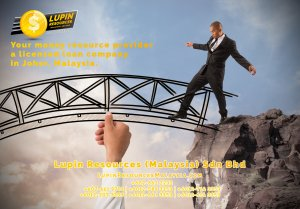 Johor Licensed Loan Company Licensed Money Lender Lupin Resources Malaysia SDN BHD Your money resource provider Kulai Johor Bahru Johor Malaysia Business Loan A01-43