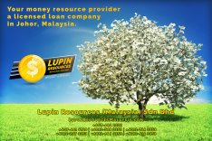 Johor Licensed Loan Company Licensed Money Lender Lupin Resources Malaysia SDN BHD Your money resource provider Kulai Johor Bahru Johor Malaysia Business Loan A01-47