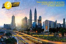 Johor Licensed Loan Company Licensed Money Lender Lupin Resources Malaysia SDN BHD Your money resource provider Kulai Johor Bahru Johor Malaysia Business Loan A01-54
