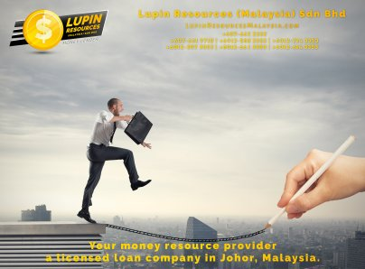 Johor Licensed Loan Company Licensed Money Lender Lupin Resources Malaysia SDN BHD Your money resource provider Kulai Johor Bahru Johor Malaysia Business Loan A01-58