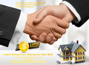Johor Licensed Loan Company Licensed Money Lender Lupin Resources Malaysia SDN BHD Your money resource provider Kulai Johor Bahru Johor Malaysia Business Loan A01-63