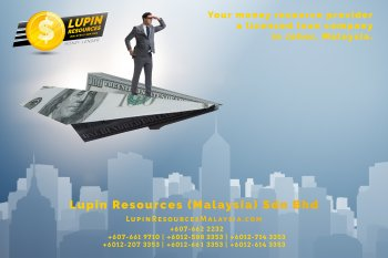 Johor Licensed Loan Company Licensed Money Lender Lupin Resources Malaysia SDN BHD Your money resource provider Kulai Johor Bahru Johor Malaysia Business Loan A01-74