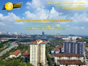 Johor Licensed Loan Company Licensed Money Lender Lupin Resources Malaysia SDN BHD Your money resource provider Kulai Johor Bahru Johor Malaysia Business Loan A01-80