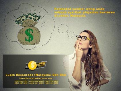 Johor Syarikat Pinjaman Berlesen Lupin Resources Malaysia SDN BHD Pembekal Sumber Wang Anda Kulai Johor Bahru Johor Malaysia Pinjaman Perniagaan Pinjaman Peribadi A01-01