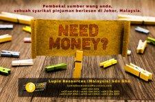 Johor Syarikat Pinjaman Berlesen Lupin Resources Malaysia SDN BHD Pembekal Sumber Wang Anda Kulai Johor Bahru Johor Malaysia Pinjaman Perniagaan Pinjaman Peribadi A01-12