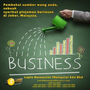 Johor Syarikat Pinjaman Berlesen Lupin Resources Malaysia SDN BHD Pembekal Sumber Wang Anda Kulai Johor Bahru Johor Malaysia Pinjaman Perniagaan Pinjaman Peribadi A01-18