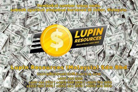 Johor Syarikat Pinjaman Berlesen Lupin Resources Malaysia SDN BHD Pembekal Sumber Wang Anda Kulai Johor Bahru Johor Malaysia Pinjaman Perniagaan Pinjaman Peribadi A01-35