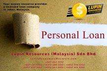 Johor Syarikat Pinjaman Berlesen Lupin Resources Malaysia SDN BHD Pembekal Sumber Wang Anda Kulai Johor Bahru Johor Malaysia Pinjaman Perniagaan Pinjaman Peribadi A01-38