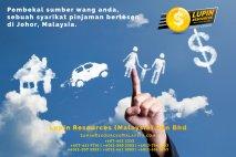 Johor Syarikat Pinjaman Berlesen Lupin Resources Malaysia SDN BHD Pembekal Sumber Wang Anda Kulai Johor Bahru Johor Malaysia Pinjaman Perniagaan Pinjaman Peribadi A01-42