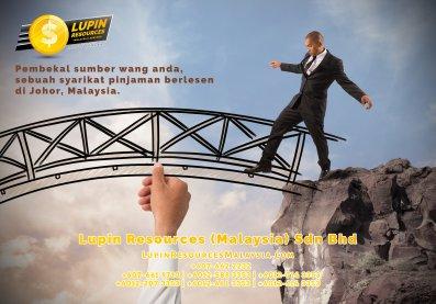 Johor Syarikat Pinjaman Berlesen Lupin Resources Malaysia SDN BHD Pembekal Sumber Wang Anda Kulai Johor Bahru Johor Malaysia Pinjaman Perniagaan Pinjaman Peribadi A01-43