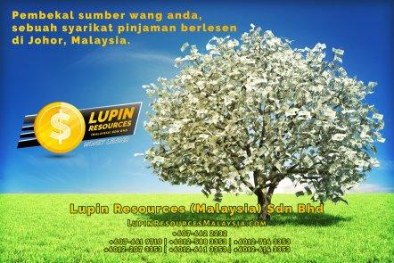 Johor Syarikat Pinjaman Berlesen Lupin Resources Malaysia SDN BHD Pembekal Sumber Wang Anda Kulai Johor Bahru Johor Malaysia Pinjaman Perniagaan Pinjaman Peribadi A01-47