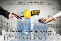 Johor Syarikat Pinjaman Berlesen Lupin Resources Malaysia SDN BHD Pembekal Sumber Wang Anda Kulai Johor Bahru Johor Malaysia Pinjaman Perniagaan Pinjaman Peribadi A01-48