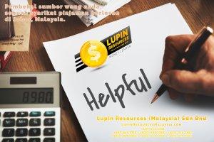 Johor Syarikat Pinjaman Berlesen Lupin Resources Malaysia SDN BHD Pembekal Sumber Wang Anda Kulai Johor Bahru Johor Malaysia Pinjaman Perniagaan Pinjaman Peribadi A01-60