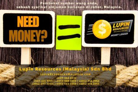 Johor Syarikat Pinjaman Berlesen Lupin Resources Malaysia SDN BHD Pembekal Sumber Wang Anda Kulai Johor Bahru Johor Malaysia Pinjaman Perniagaan Pinjaman Peribadi A01-72