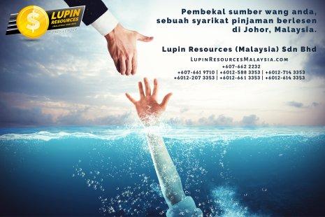 Johor Syarikat Pinjaman Berlesen Lupin Resources Malaysia SDN BHD Pembekal Sumber Wang Anda Kulai Johor Bahru Johor Malaysia Pinjaman Perniagaan Pinjaman Peribadi A01-75