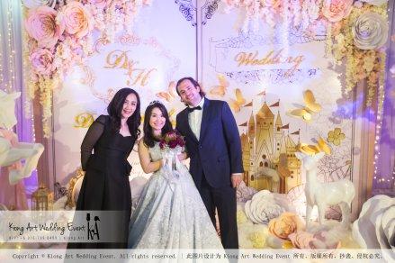 Kiong Art Wedding Event Kuala Lumpur Malaysia Wedding Decoration One-stop Wedding Planning Legend of Fairy Tales Grand Sea View Restaurant 海景宴宾楼 A08-A01-71
