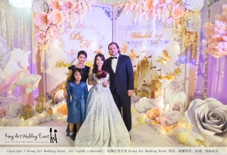 Kiong Art Wedding Event Kuala Lumpur Malaysia Wedding Decoration One-stop Wedding Planning Legend of Fairy Tales Grand Sea View Restaurant 海景宴宾楼 A08-A01-73