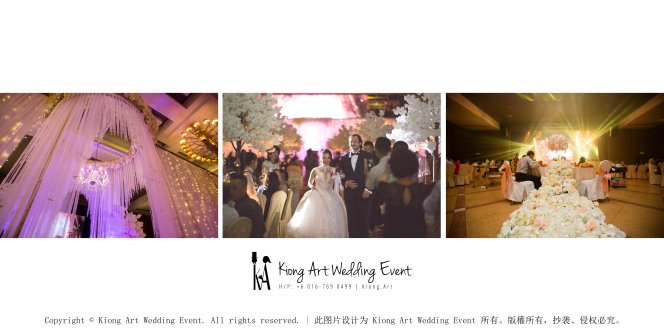 Kiong Art Wedding Event Kuala Lumpur Malaysia Wedding Decoration One-stop Wedding Planning Legend of Fairy Tales Grand Sea View Restaurant 海景宴宾楼 A08-B00-04