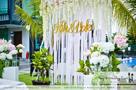 Kiong Art Wedding Event Kuala Lumpur Malaysia Wedding Decoration One-stop Wedding Planning Warm Outdoor Romantic Style Theme Kluang Container Swimming Pool Homestay A07-A01-04