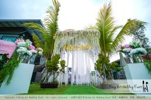 Kiong Art Wedding Event Kuala Lumpur Malaysia Wedding Decoration One-stop Wedding Planning Warm Outdoor Romantic Style Theme Kluang Container Swimming Pool Homestay A07-A01-06