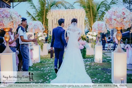 Kiong Art Wedding Event Kuala Lumpur Malaysia Wedding Decoration One-stop Wedding Planning Warm Outdoor Romantic Style Theme Kluang Container Swimming Pool Homestay A07-A01-20