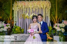 Kiong Art Wedding Event Kuala Lumpur Malaysia Wedding Decoration One-stop Wedding Planning Warm Outdoor Romantic Style Theme Kluang Container Swimming Pool Homestay A07-A01-33