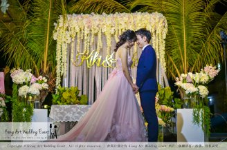 Kiong Art Wedding Event Kuala Lumpur Malaysia Wedding Decoration One-stop Wedding Planning Warm Outdoor Romantic Style Theme Kluang Container Swimming Pool Homestay A07-A01-35
