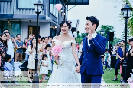 Kiong Art Wedding Event Kuala Lumpur Malaysia Wedding Decoration One-stop Wedding Planning Warm Outdoor Romantic Style Theme Kluang Container Swimming Pool Homestay A07-A01-38