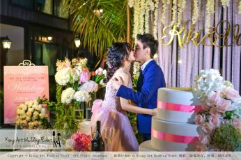 Kiong Art Wedding Event Kuala Lumpur Malaysia Wedding Decoration One-stop Wedding Planning Warm Outdoor Romantic Style Theme Kluang Container Swimming Pool Homestay A07-A01-52