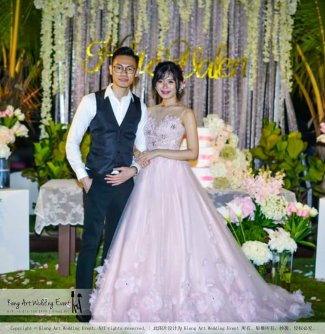 Kiong Art Wedding Event Kuala Lumpur Malaysia Wedding Decoration One-stop Wedding Planning Warm Outdoor Romantic Style Theme Kluang Container Swimming Pool Homestay A07-A01-54