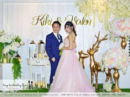 Kiong Art Wedding Event Kuala Lumpur Malaysia Wedding Decoration One-stop Wedding Planning Warm Outdoor Romantic Style Theme Kluang Container Swimming Pool Homestay A07-A01-56