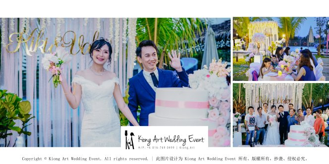Kiong Art Wedding Event Kuala Lumpur Malaysia Wedding Decoration One-stop Wedding Planning Warm Outdoor Romantic Style Theme Kluang Container Swimming Pool Homestay A07-B00-01