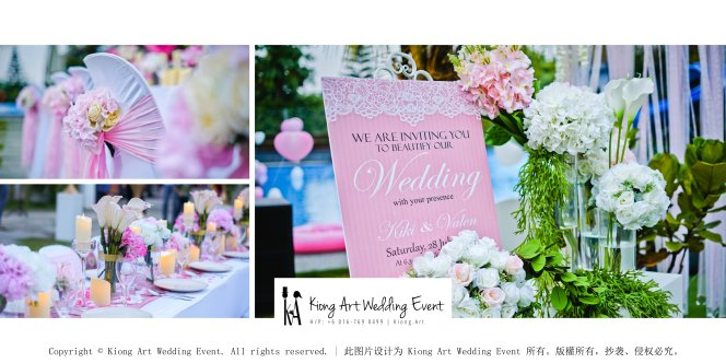 Kiong Art Wedding Event Kuala Lumpur Malaysia Wedding Decoration One-stop Wedding Planning Warm Outdoor Romantic Style Theme Kluang Container Swimming Pool Homestay A07-B00-04