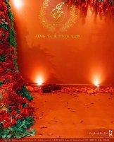 Kiong Art Wedding Event Kuala Lumpur Malaysia Wedding Decoration One-stop Wedding Planning Jing Ta and Dior Yaw 柔佛永平德教会礼堂 A09-A01-13