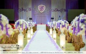 Kiong Art Wedding Event Kuala Lumpur Malaysia Wedding Decoration One-stop Wedding Planning Jing Ta and Dior Yaw 柔佛永平德教会礼堂 A09-B01-08