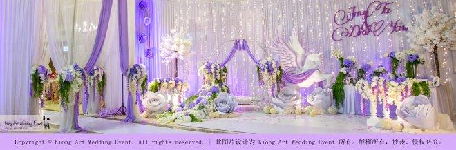 Kiong Art Wedding Event Kuala Lumpur Malaysia Wedding Decoration One-stop Wedding Planning Jing Ta and Dior Yaw 柔佛永平德教会礼堂 A09-B01-09