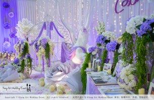 Kiong Art Wedding Event Kuala Lumpur Malaysia Wedding Decoration One-stop Wedding Planning Jing Ta and Dior Yaw 柔佛永平德教会礼堂 A09-B01-10