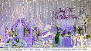 Kiong Art Wedding Event Kuala Lumpur Malaysia Wedding Decoration One-stop Wedding Planning Jing Ta and Dior Yaw 柔佛永平德教会礼堂 A09-B01-11