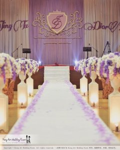 Kiong Art Wedding Event Kuala Lumpur Malaysia Wedding Decoration One-stop Wedding Planning Jing Ta and Dior Yaw 柔佛永平德教会礼堂 A09-B01-13