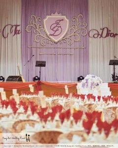 Kiong Art Wedding Event Kuala Lumpur Malaysia Wedding Decoration One-stop Wedding Planning Jing Ta and Dior Yaw 柔佛永平德教会礼堂 A09-B01-15