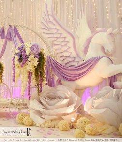 Kiong Art Wedding Event Kuala Lumpur Malaysia Wedding Decoration One-stop Wedding Planning Jing Ta and Dior Yaw 柔佛永平德教会礼堂 A09-B01-19
