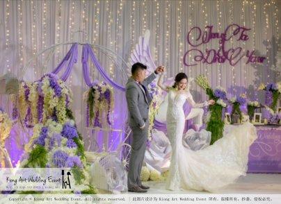 Kiong Art Wedding Event Kuala Lumpur Malaysia Wedding Decoration One-stop Wedding Planning Jing Ta and Dior Yaw 柔佛永平德教会礼堂 A09-B01-20