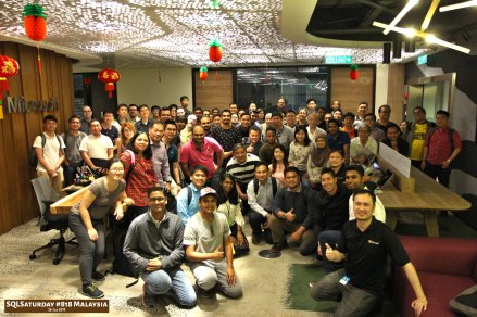 SQLSaturday 818 Malaysia 26 Jan 2019 at Microsoft Malaysia SQLSaturday is a training event for SQL Server professionals and those wanting to learn about SQL Server PA001