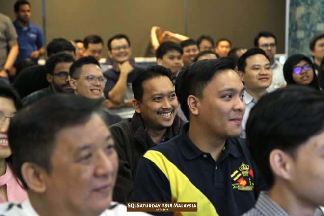SQLSaturday 818 Malaysia 26 Jan 2019 at Microsoft Malaysia SQLSaturday is a training event for SQL Server professionals and those wanting to learn about SQL Server PA014