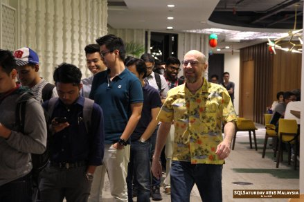 SQLSaturday 818 Malaysia 26 Jan 2019 at Microsoft Malaysia SQLSaturday is a training event for SQL Server professionals and those wanting to learn about SQL Server PB030