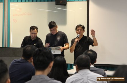 SQLSaturday 818 Malaysia 26 Jan 2019 at Microsoft Malaysia SQLSaturday is a training event for SQL Server professionals and those wanting to learn about SQL Server PC009